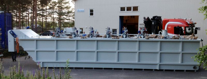 neat grinding oil filtration plant